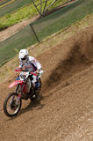 Motocross racer Royalty Free Stock Image