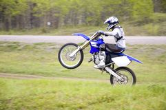 Motocross Racer Royalty Free Stock Photo