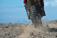 Motocross racer Royalty Free Stock Photos