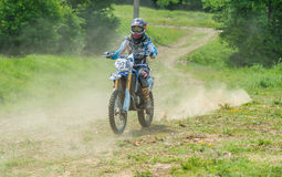 Motocross racer Stock Photos