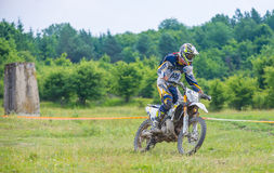 Motocross racer Stock Image