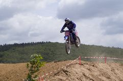 Motocross Racing Royalty Free Stock Photos