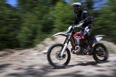 Motocross-Rennen stockbilder
