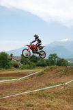 Motocross rider Stock Photos