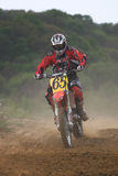 Motocross rider Royalty Free Stock Image