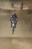 Motocross rider Royalty Free Stock Images