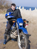 Motocross rider Royalty Free Stock Photography