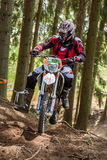Motocross rider at the Drapak Rodeo Race Stock Photos