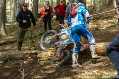 Motocross rider at the Drapak Rodeo Race Stock Image
