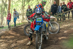 Motocross rider at the Drapak Rodeo Race Stock Photography