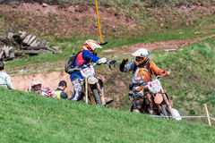 Motocross rider at the Drapak Rodeo Race Stock Photos