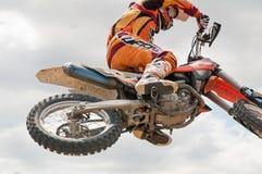 Motocross rider Stock Image