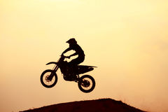 Motocross rider Royalty Free Stock Photo
