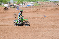 Motocross rider Stock Images