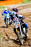 Motocross riders Royalty Free Stock Images