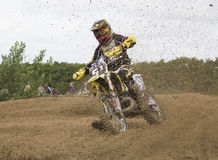 Motocross Riders. Royalty Free Stock Photography