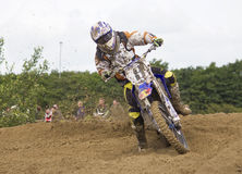 Motocross Riders. Royalty Free Stock Photo
