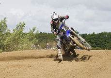 Motocross Riders. Stock Photo