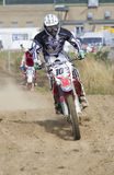 Motocross Riders. Stock Photography