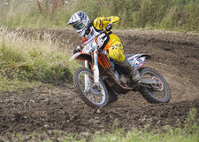 Motocross Riders. Stock Photography