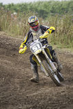 Motocross Riders. Royalty Free Stock Images