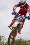 Motocross Riders. Stock Image