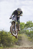 Motocross Riders. Stock Images