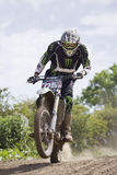 Motocross Riders. Royalty Free Stock Photos