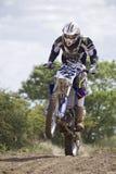 Motocross Riders. Stock Photo