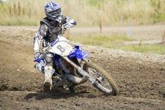 Motocross Riders. Royalty Free Stock Image