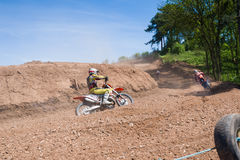 Motocross riders Stock Image