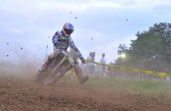 Motocross in Sariego, Asturias, Spain. Stock Photos