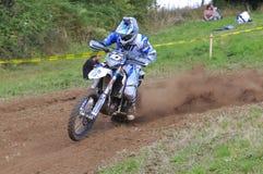 Motocross in Sariego, Asturias, Spain. Stock Photography