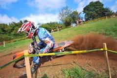 Motocross in Sariego, Asturias, Spain. Royalty Free Stock Image