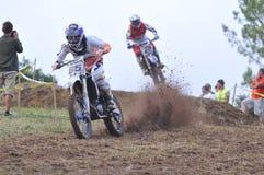 Motocross in Sariego, Asturias, Spanje Stock Afbeelding
