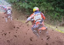 Motocross. Royalty Free Stock Images