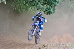 Motocross in Sariego, Spain. Stock Photography