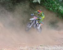 Motocross in Sariego, Spain. Stock Photos