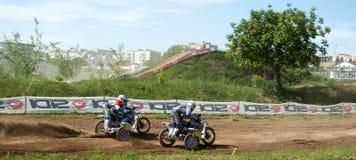 Motocross Sidecar Стоковое Изображение RF