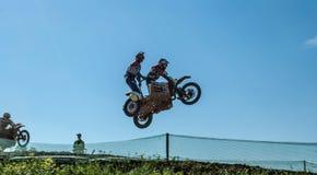 Motocross Sidecar Стоковые Изображения RF