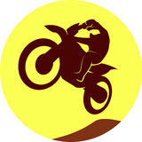 Motocross sign Stock Images