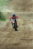Motocross-snelheid. Stock Afbeelding