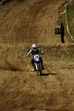 Motocross-speed-98. Royalty Free Stock Images
