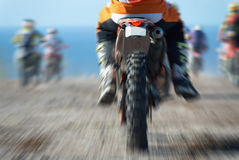 Motocross sport (abstract) Royalty Free Stock Image