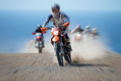 Motocross sport (abstract) Stock Image