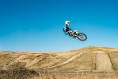 Motocross sport photo extreme, dirt championship, rider. Motocross sport photo extreme rider royalty free stock photos