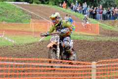 Motocross sports. Motorcycle racing cross country Stock Image
