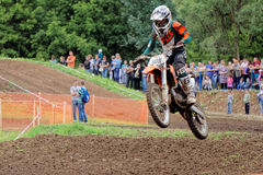 Motocross sports. Motorcycle racing cross country Stock Photo