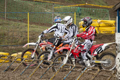 MOTOCROSS,START.MX1,Open A. Stock Photography