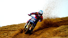 Motocross sulla sabbia Immagine Stock Libera da Diritti